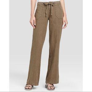 Sanctuary Beachcomber Linen Pants Beige Size 30